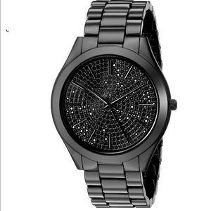 Michael Kors :: Slim Runway Crystal Pave Watch